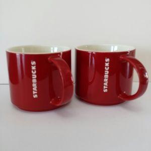 Starbucks Mugs x2